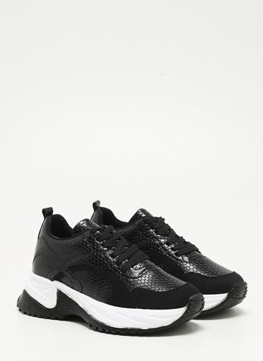 F By Fabrika F By Fabrika Olyana Çok Renkli Kadın Sneaker Siyah